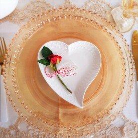 061010 mini prato ceramica decorativo coracao branco pra caza unico casa cafe mel 2