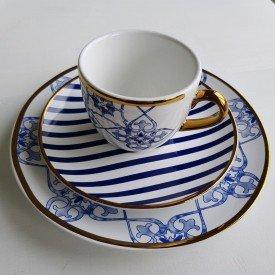 conjunto de lanche porcelana 3 pecas 2linha lusitana 2005l oxford casa cafe mel 1