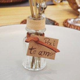 mini vaso decorativo de vidro 5 3cm transparente 25mel casa cafe mel 2