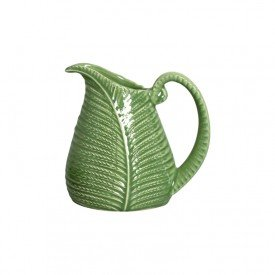 jarra de ceramica leaves verde 1 litro 2685632 scalla casa cafe mel 4