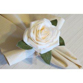 porta guardanapo flor branca 1935 amora casa casa cafe mel 1