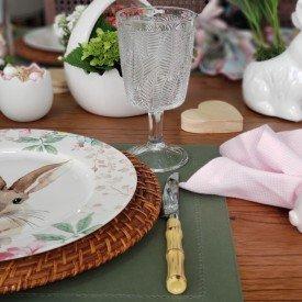 35634 taca de vidro leaves transparente 6 pecas bon gourmet casa cafe mel 8