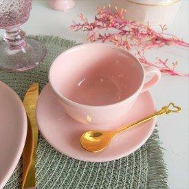 088302 xicara cha ceramica unni milenial 150ml 6 pecas oxford casa cafe mel