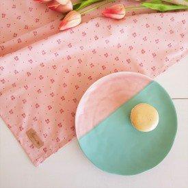 2218 guardanapo de tecido individual amora casa flor do campo rose casa cafe mel casacafe mel 1