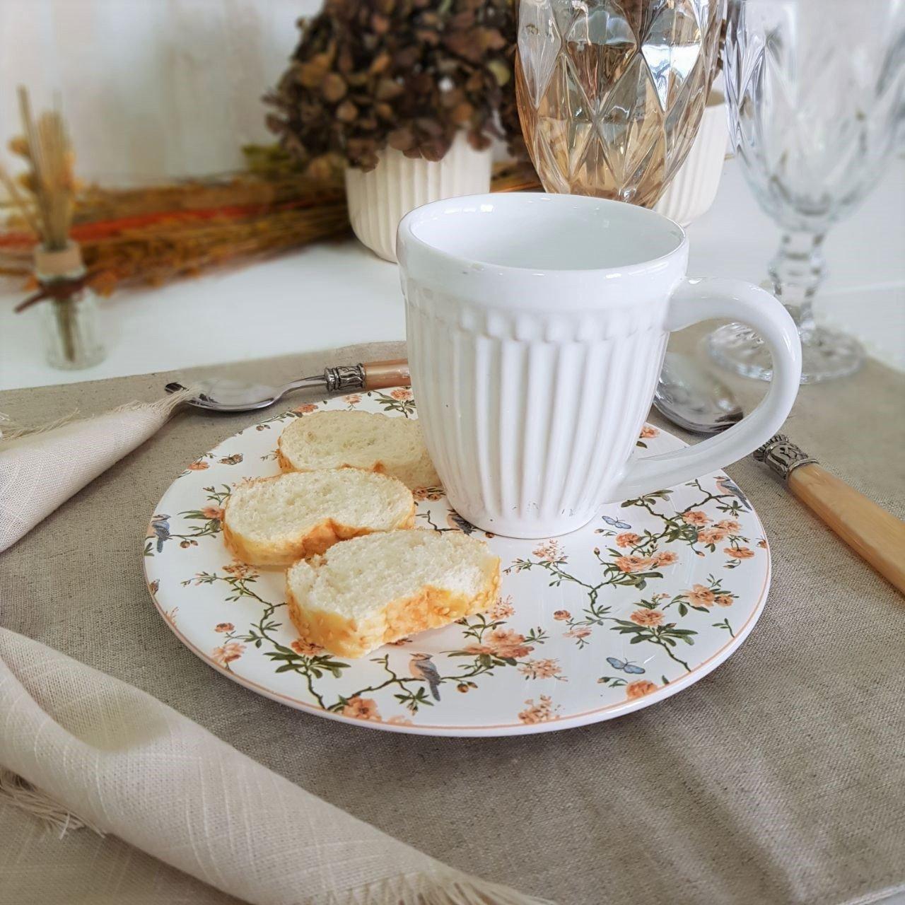 172527 prato para sobremesa ceramica peonies scalla 6 pecas casa cafe mel 2