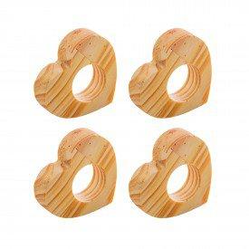 argola para guardanapo coracao madeira 4 pecas 13370 rojemac casa cafe mel 7