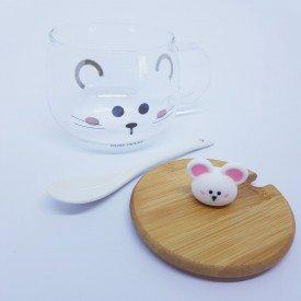 Aucareiro de Vidro com Ala Mouse For Real 2