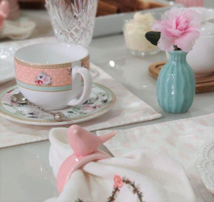 29mel mini vaso decorativo de ceramica 8cm verde tiffany casa cafe mel 2