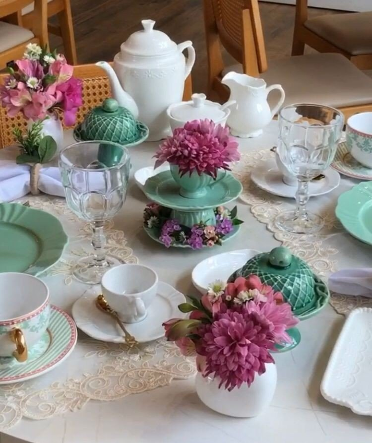 mesa primavera verde mendi
