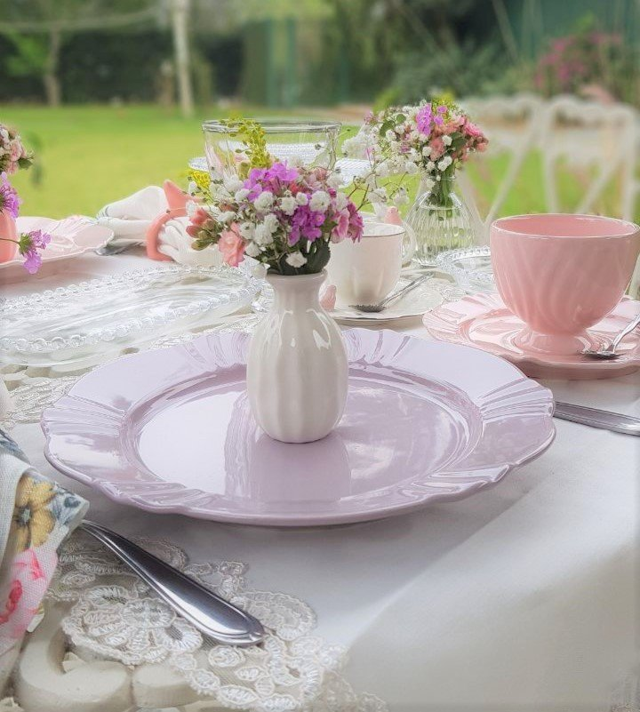 101856 prato sobremesa porcelana soleil fabula oxford 6 pecas casa cafe mel