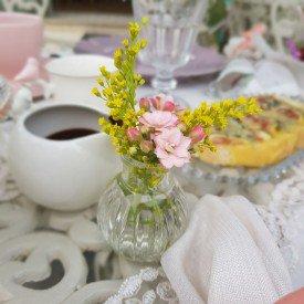 20mel mini vaso decorativo de vidro 7cm casa cafe mel transparente casa cafe mel