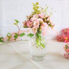 21mel mini vaso decorativo de vidro 9cm casa cafe mel transparente casa cafe mel
