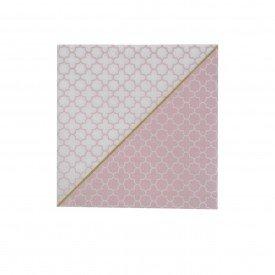 guardanapo de papel mosaico rosa 20 pecas 69450001 d a casa cafe mel 2