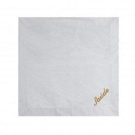 guardanapo de linho bordado dourado saude 40x40cm 99769 d a casa cafe mel 2