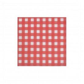 guardanapo de papel xadrez vermelho 20 pecas 73477001 d a casa cafe mel 2