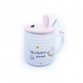 caneca com tampa pascoa bunny planet h20837 c casa cafe mel