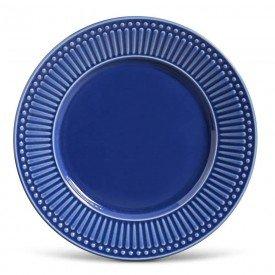 prato raso ceramica roma 6 pecas azul navy 323132 porto brasil casa cafe mel