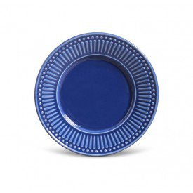prato para sobremesa ceramica roma 6 pecas azul navy 323134 porto brasil casa cafe mel 1