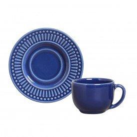 xicara de cha roma azul navy 323136 porto brasil casa cafe mel