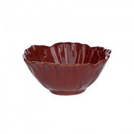bowl ceramica natal flor vermelha 13x13m 73504002 d a casa cafe mel 1