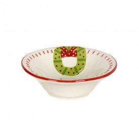 bowl ceramica guirlanda de natal 15x15m 74513001 d a casa cafe mel 1