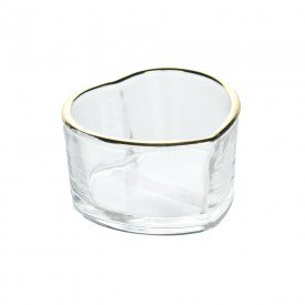 mini petisqueira de vidro coracao filete dourado 8x4 5cm 74231001 d a casa cafe mel 1