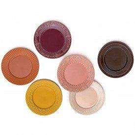 prato raso ceramica especiarias acervo panelinha 6 pecas 32125205301 porto brasil casa cafe mel 9