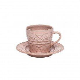 xicara de cha com pires porcelana serena bale 200ml 6 pecas 103476 oxford casa cafe mel 1