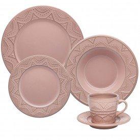 aparelho de jantar ceramica serena bale 30 pecas 103482 oxford casa cafe mel 1