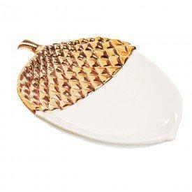 petisqueira ceramica noz 20cm 1592277 cromus casa cafe mel