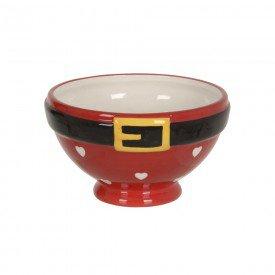 bowl ceramica natal papai noel 14 5x14 5cm 74529001 d a casa cafe mel 1