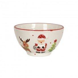 bowl ceramica natal papai noel 13x13cm 74523001 d a casa cafe mel 1