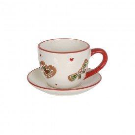 xicara de cha ceramica natal biscoitos 250ml 74516001 d a casa cafe mel 1