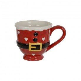 caneca de ceramica natal papai noel 400ml 74530001 d a casa cafe mel 1