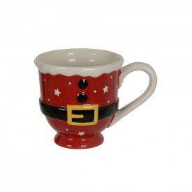caneca de ceramica natal papai noel 400ml 74527001 d a casa cafe mel 1