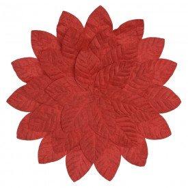 americano aveludado natal folhas vermelhas o45cm 73921001 d a casa cafe mel