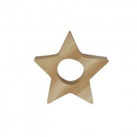porta guardanapo de madeira natal estrela 8x8cm 99040 d a casa cafe mel 1
